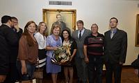 Silvana Covatti toma posse com Assembleia Legislativa lotada onde que Comitiva de Barros Cassal,participa do ato inaugural do cargo da Deputada.