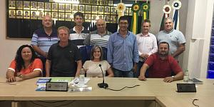 Legislativo recebe a visita do Presidente da Câmara de Soledade