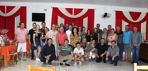 Vereadores de Barros Cassal realizam confraternização